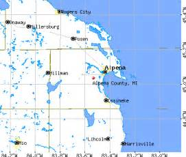 Alpena Michigan Map by Alpena County Mi Map Related Keywords Amp Suggestions