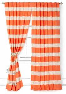 Coral Patterned Curtains Crochet Spliced Curtain Coral Contemporary Curtains By Anthropologie