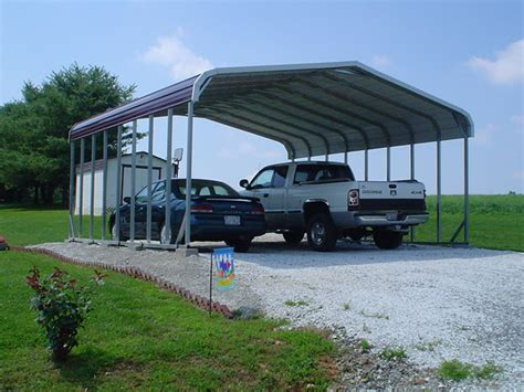 Auto Carport by Carports Two Car Carports 2 Car Carports