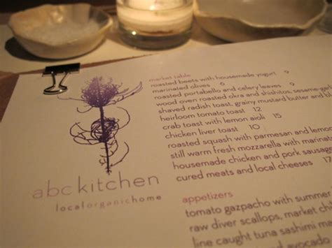 farewell dinner at abc kitchen and the feast