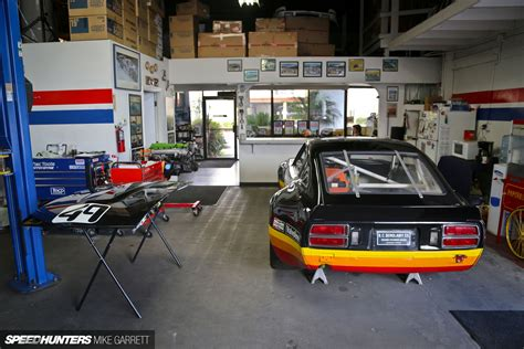 Garage Of Cars by Z Car Garage Where Datsun Geeks Rule Anything Cars