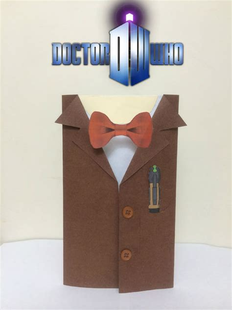 Dr Who Birthday Card Doctor Who Birthday Card