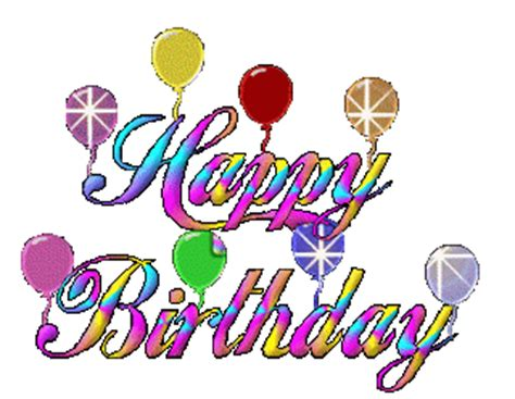gambar animasi happy birthday clipart best