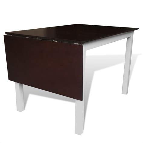 tavolo allungabile legno bianco tavolo da pranzo allungabile in legno marrone e bianco 150