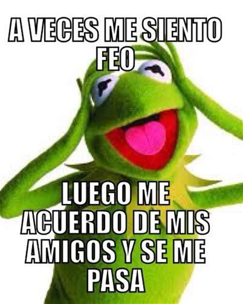 Memes Rana Rene - memes de la rana ren 233 con frases quot a veces quot en im 225 genes