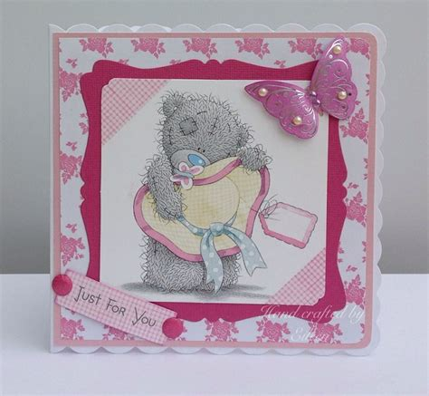 Handmade Teddy Cards - the 20 best images about tatty teddy on crafts