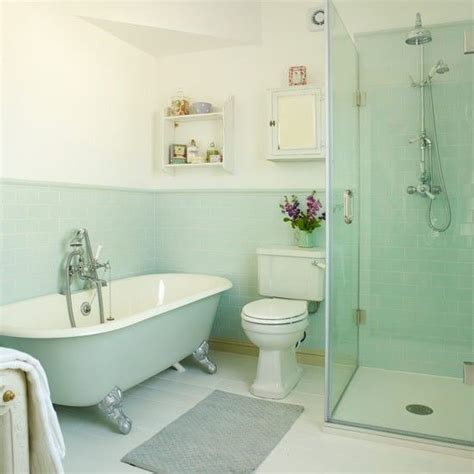 Blue And Green Bathroom Ideas by 40 Mint Green Bathroom Tile Ideas And Pictures