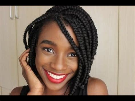 styling short box braids 40 black braided hairstyles hair styles for black woman