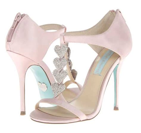 Wedding Shoes Betsey Johnson by Bridal Shoes Bestey Johnson Blue Front T Bar