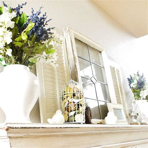 Window Mantel Giving Your Mantel A Fresh Look With Decor Megan