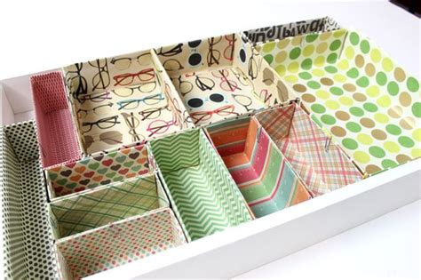 Make Your Own Desk Organizer Create Your Own Cardboard Box Desk Drawer Organizers Ehow