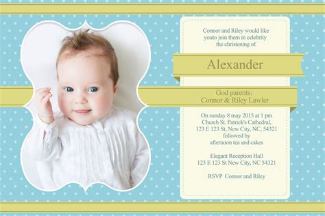 baptism invitation template baptism invitation templates