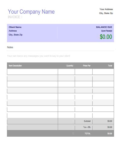 Billing Forms Template by Billing Invoice Template Create Edit Fill And