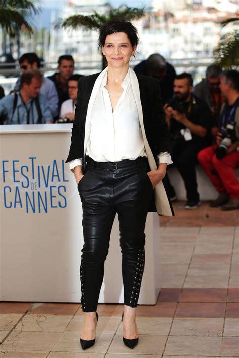 Always In Fashion Luxurious Leather Bglam by Why Black White Is Always Right Juliette Binoche