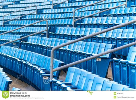 stadium benches stadium seating stock image image of horizontal bench