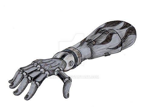 robot arm detail by mikeyquig on deviantart