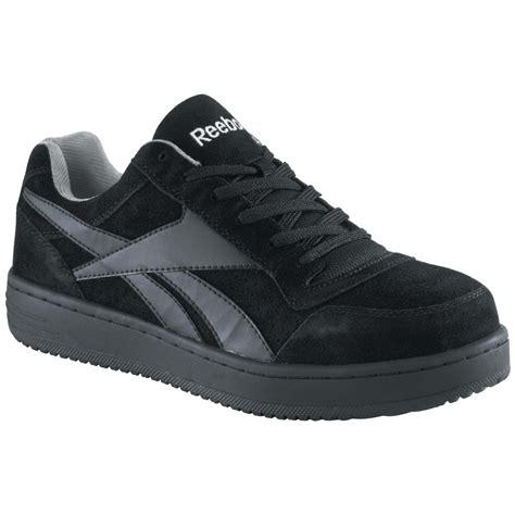 mens steel toe sneakers s reebok steel toe skateboard shoes black 231909