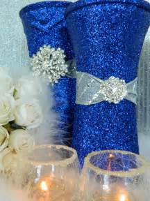 Wedding decorations silver wedding centerpieces by kpgdesigns