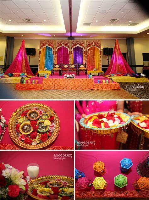 Mehndi Decor by Design & Decor at Hellenic Banquet Hall