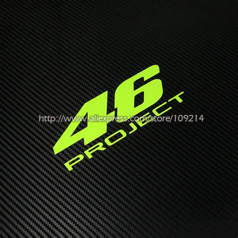 Sticker Vr46 07 popular helmet project buy cheap helmet project lots from