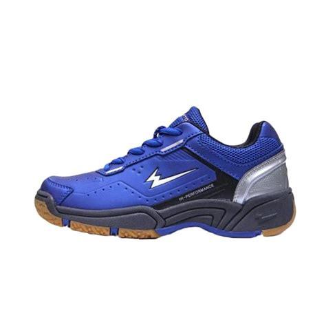 Sepatu Badminton Untuk Anak jual eagle premier jr sepatu badminton anak blue bk harga kualitas terjamin