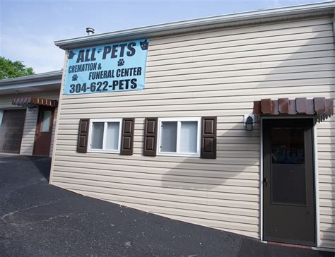 all pets cremation funeral center in nutter fort wv