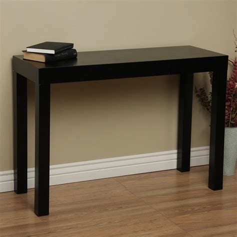 Overstock Sofa Table by Lachlan Glossy Black Sofa Table Free Shipping Today