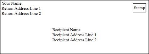 letter envelope format 2 letter envelope format gplusnick 1768