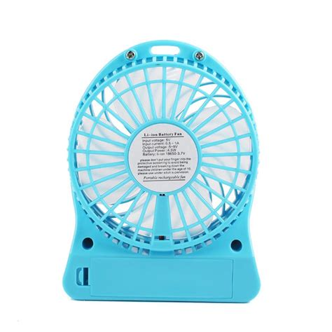 Battery Cell Handheld Cooling Fan 18650 Battery portable rechargeable led light fan air cooler mini desk usb 18650 battery fan