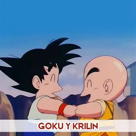 imagenes de goku krilin animes de amistad imagenes de animes de amor