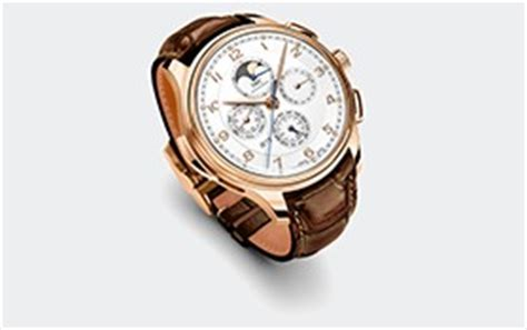Iwc Portugieser Grande Complication Rosegold Brown Leather iwc portugieser grande complication iw3776