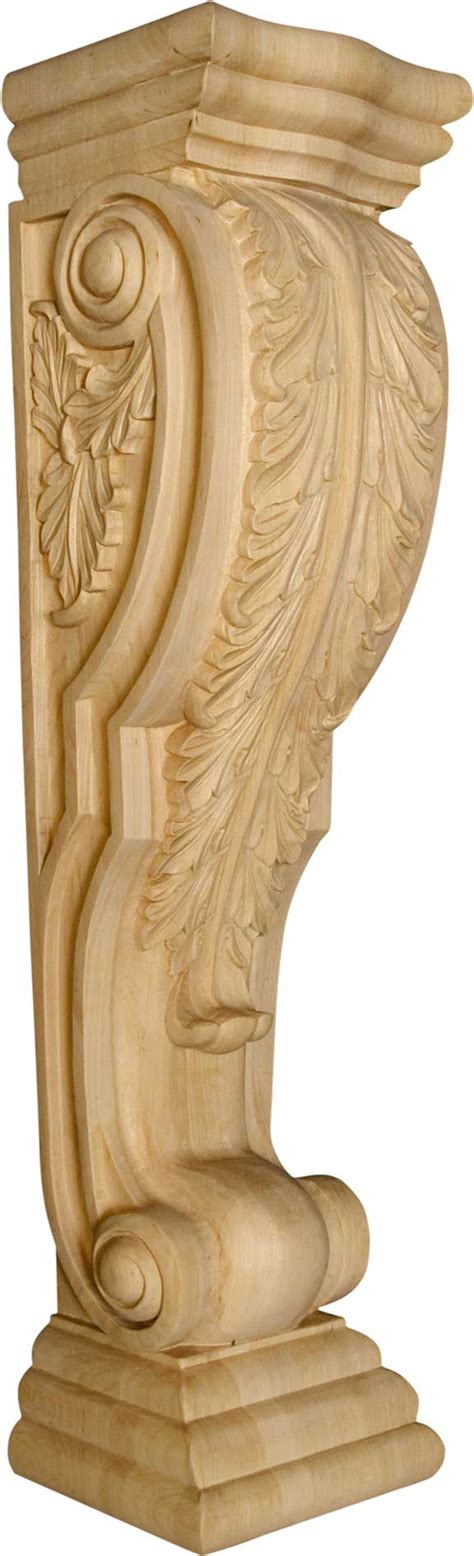 Osborne Corbels by Island Height Corbel With Acanthus Leaves