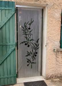rideau de porte anti mouches