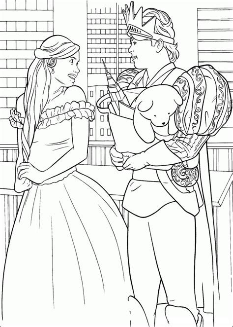 enchanted princess coloring pages enchanted coloring pages coloringpages1001