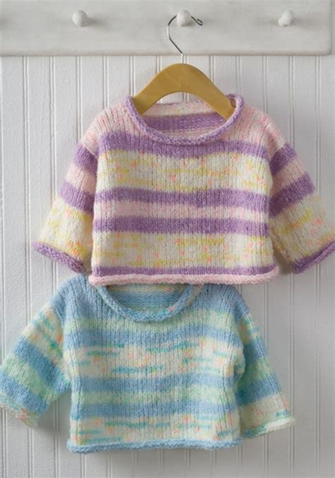 simple baby jumper knitting pattern easy baby pullover sweater knitting pattern allcrafts