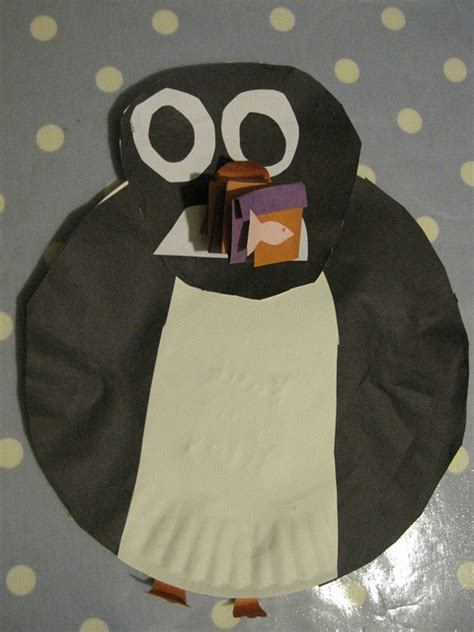 Paper Penguin Craft - 1000 images about made out of things on