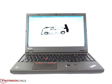 lenovo thinkpad w541 workstation review notebookcheck