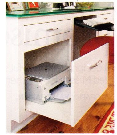 hidden printer cabinet 25 best ideas about printer storage on pinterest small