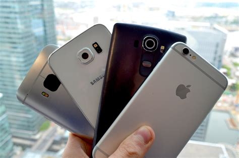 iphone 6 vs galaxy s6 vs lg g4 vs nexus 6 camera ui best smartphone of 2015 so far iphone 6 vs samsung galaxy