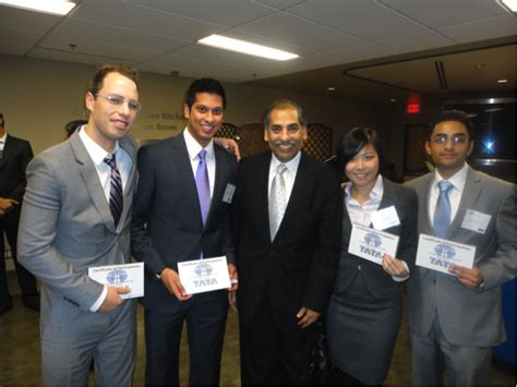 Mba Convention Toronto by Beedie Team Travels To Toronto For The 2011 Tata Cup A