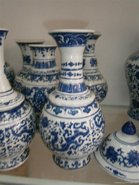 wholesale china wholesale antique blue and white porcelain vases