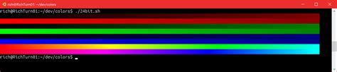 24 bit color 24 bit color in the windows console windows command