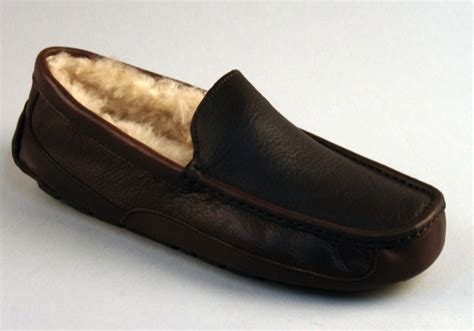 house of fraser mens slippers ugg australia men s ascot leather slippers tools and toys