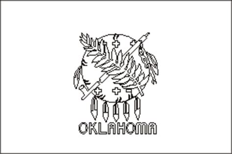 okc coloring pages oklahoma state flag coloring pages usa for kids