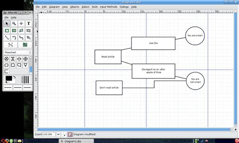 dia flowchart software using dia for diagrams