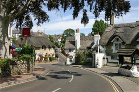 thatched roof 1990s shanklin picture gallery pubs shops on the