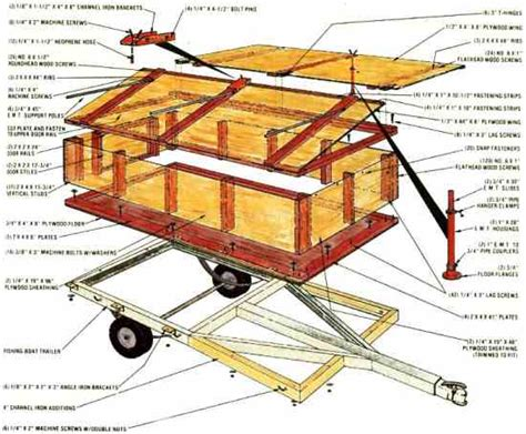 diy hard floor cer trailer plans build a homemade cing trailer do it yourself mother