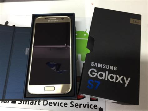 Samsung S7 Gold Platinum Samsung Galaxy S7 Gold Platinum Unboxing And Vr Headset