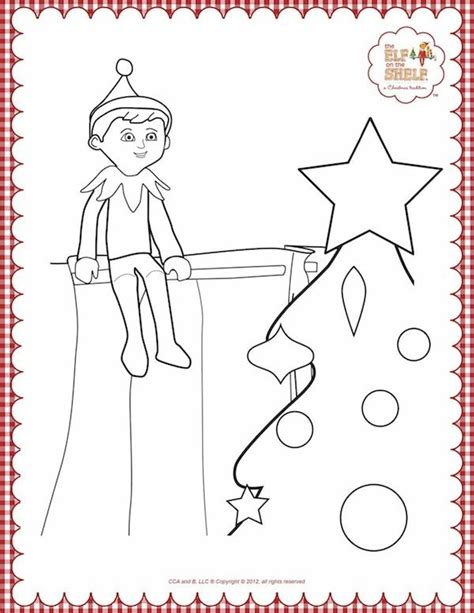 elf on the shelf pet coloring pages 9 best brettie s elf on the shelf coloring pages images on