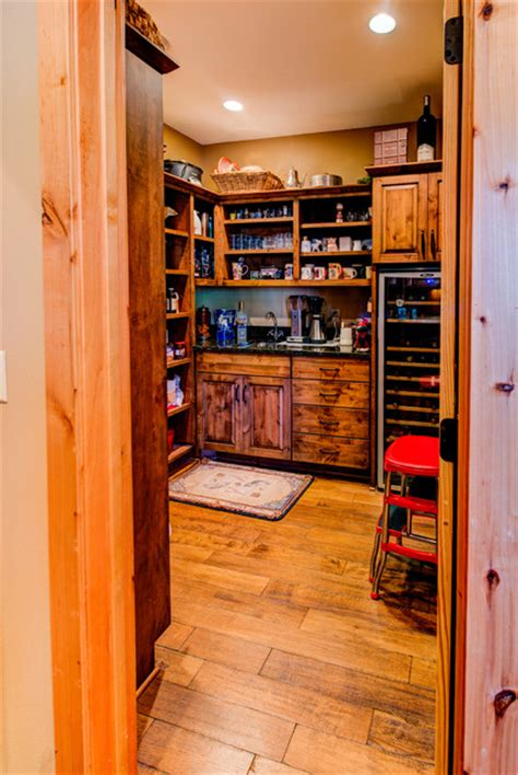 Pantry Wine Storage by Butlers Pantry With Wine Storage Rustic Wine Cellar